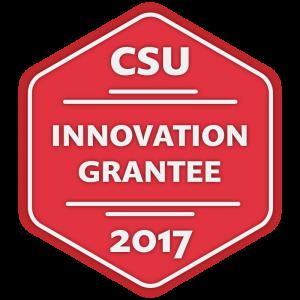 2017 CSU Innovation Grantee badge